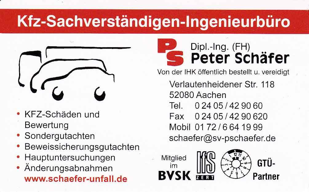 V-Card Schäfer